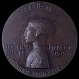Lionello D'Este Medal  1444