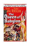 The Queen of Babylon  (Aka La Cortigiana Di Babilonia)  Rhonda Fleming (Right)  1954