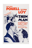 The Thin Man  from Left: William Powell  Myrna Loy  1934