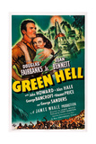 Green Hell  L-R: Douglas Fairbanks  Jr  Joan Bennett  1940