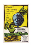 Village of the Damned  from Left: George Sanders  Barbara Shelley  1960
