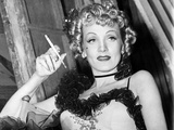 Destry Rides Again  Marlene Dietrich  On-Set  1939