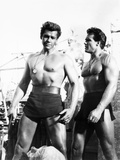 Duel of the Titans  (Aka Romolo E Remo)  from Left: Gordon Scott  Steve Reeves  1961