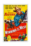 Winning of the West  Gene Autry  1953