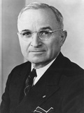 Harry Truman  President of US from April 12  1945 to Jan 20  1953