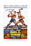 Duel of the Titans  (Aka Romolo E Remo)  from Left: Steve Reeves  Gordon Scott  1961