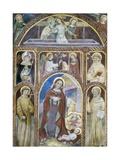 Annunciation  Nativity  Resurrection with Saints  15th C