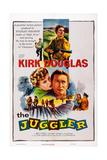 The Juggler  Top: Kirk Douglas; Center: Milly Vitale  Kirk Douglas  1953