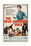 The High Powered Rifle  Top Right: Allison Hayes; Bottom Right: Willard Parker  1960