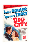 Big City  from Left: Spencer Tracy  Luise Rainer  1937