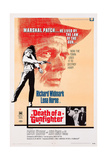 Death of a Gunfighter  Bottom Right Insert: Lena Horne  Richard Widmark  1969