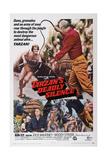Tarzan's Deadly Silence  Ron Ely (Rear)  1970