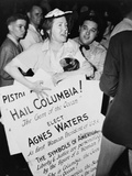 Agnes Waters at the 1948 Democratic National Convention