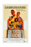 Detroit 9000 Art  Top: Hari Rhodes  Alex Rocco; Center: Vonetta Mcgee  1973