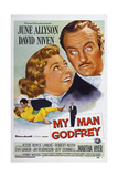 My Man Godfrey  from Left: June Allyson  David Niven  1957