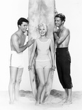 Gidget  from Left: James Darren  Sandra Dee  Cliff Robertson  1961