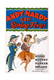 Andy Hardy Gets Spring Fever  Left: Mickey Rooney  1939