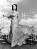 Giant  Elizabeth Taylor  in a Dress by Marjorie Best  1956