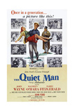 The Quiet Man  from Left: Maureen O'Hara  John Wayne  Barry Fitzgerald  1952