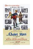 The Quiet Man  from Left: Maureen O'Hara  John Wayne  Barry Fitzgerald  1952