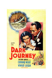 Dark Journey  from Left: Vivien Leigh  Conrad Veidt  1937