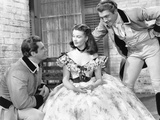 Gone with the Wind  from Left: Fred Crane  Vivien Leigh  George Reeves  1939