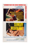 Saturday Night and Sunday Morning  Top and Bottom Inserts: Albert Finney  1960