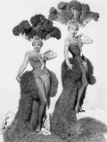 Gentlemen Marry Brunettes  from Left  Jane Russell  Jeanne Crain  1955