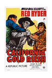 California Gold Rush  Center: Bill Elliott; Right: Robert Blake  1946