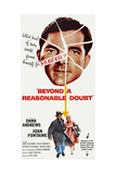 Beyond a Reasonable Doubt  Top: Dana Andrews; Bottom: Dana Andrews  Joan Fontaine  1956