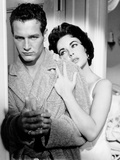 Cat on a Hot Tin Roof  from Left  Paul Newman  Elizabeth Taylor  1958