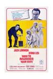 How to Murder Your Wife  Jack Lemmon  Virna Lisi  1965