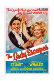 The Lady Escapes  from Left: Michael Whalen  Gloria Stuart  1937