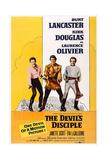 The Devil's Disciple  from Left: Kirk Douglas  Burt Lancaster  Laurence Olivier  1959