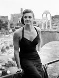 Raw Wind in Eden  Esther Williams  on Location in Rome  1958