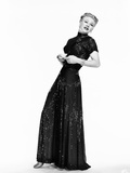 The Barkleys of Broadway  Ginger Rogers in Dinner Gown Designed by Irene  1949