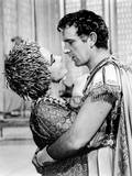 Cleopatra  from Left  Elizabeth Taylor  Richard Burton  1963
