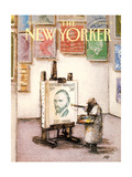 The New Yorker Cover - April 25  1988