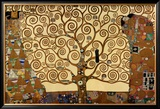 The Tree of Life  Stoclet Frieze  c1909