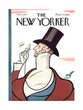 The New Yorker Cover - February 21  1977