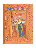 The New Yorker Cover - April 6  1981