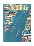 The New Yorker Cover - May 27, 1961 Giclee par Charles E. Martin