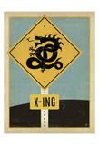 Dragon X-ing Sign