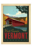 Vermont Reproduction d'art par Anderson Design Group