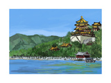 Cg Painting the Summer Palace