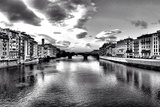 Timeless River Panorama in Florence - Italy