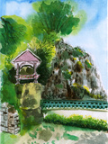 Chinese Garden Painting