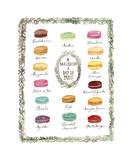 French Macaron Flavor Chart