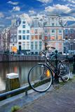 Amsterdam Papier Photo par Badahos