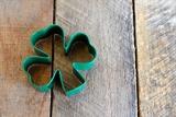 St Patricks Day - 4 Leaf Clover on Pallet